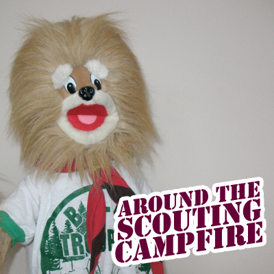Around The Scouting Campfire logo