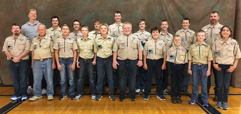 Boy Scout Troop 68 2018